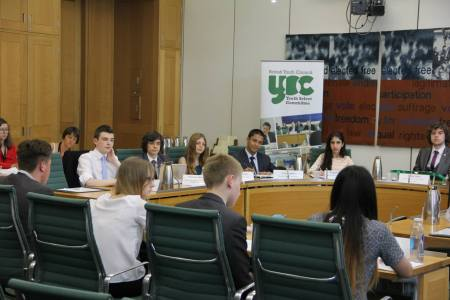 The Panel at the 2015 Youth Select Committee